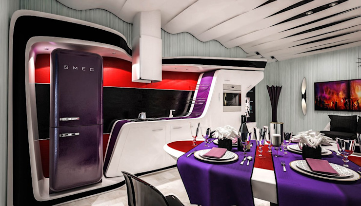 Rovida: Cucina in stile  di Denis Confalonieri - Interiors & Architecture, Moderno