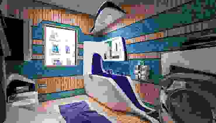 Rovida: Bagno in stile  di Denis Confalonieri - Interiors & Architecture, Moderno