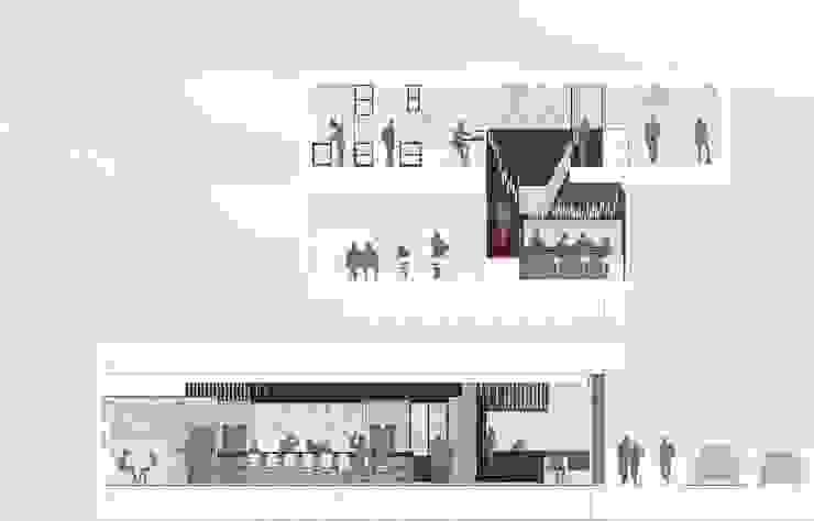 Ronzoni Bar & Club moderni di Denis Confalonieri - Interiors & Architecture Moderno