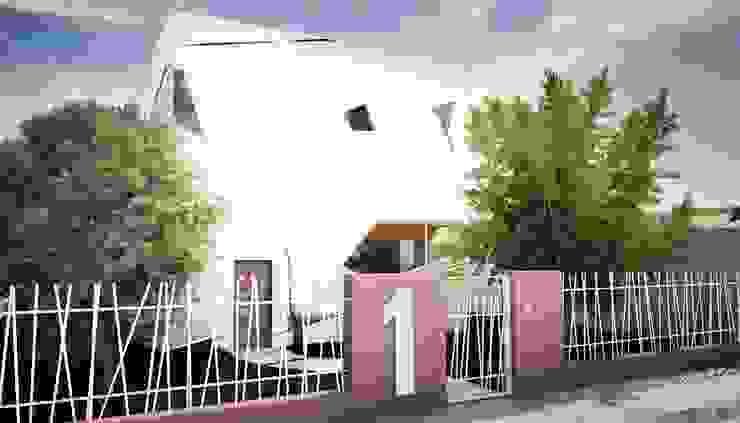 Soft Cube: Case in stile  di Denis Confalonieri - Interiors & Architecture, Moderno