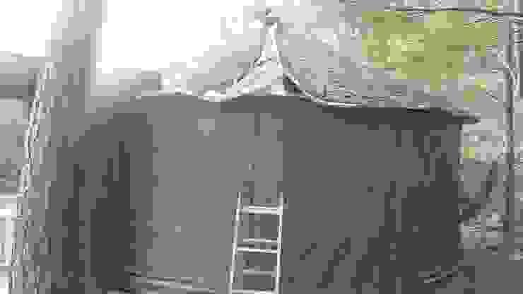 지붕 단열 by 솔롱고스캠프