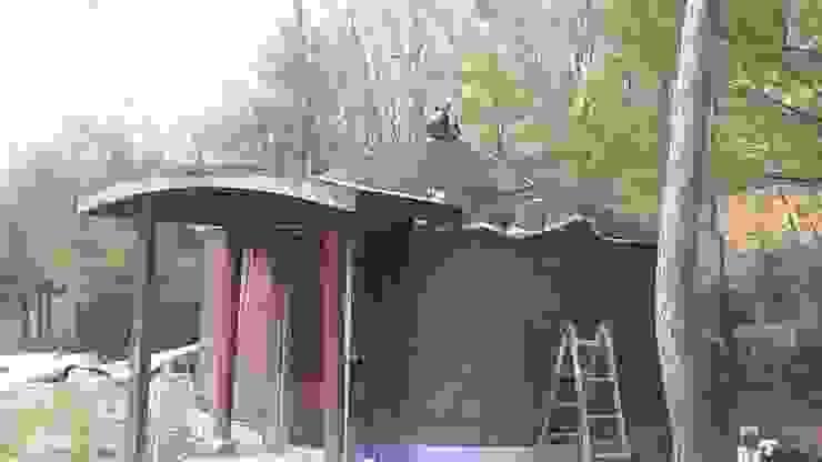 지붕단열 by 솔롱고스캠프