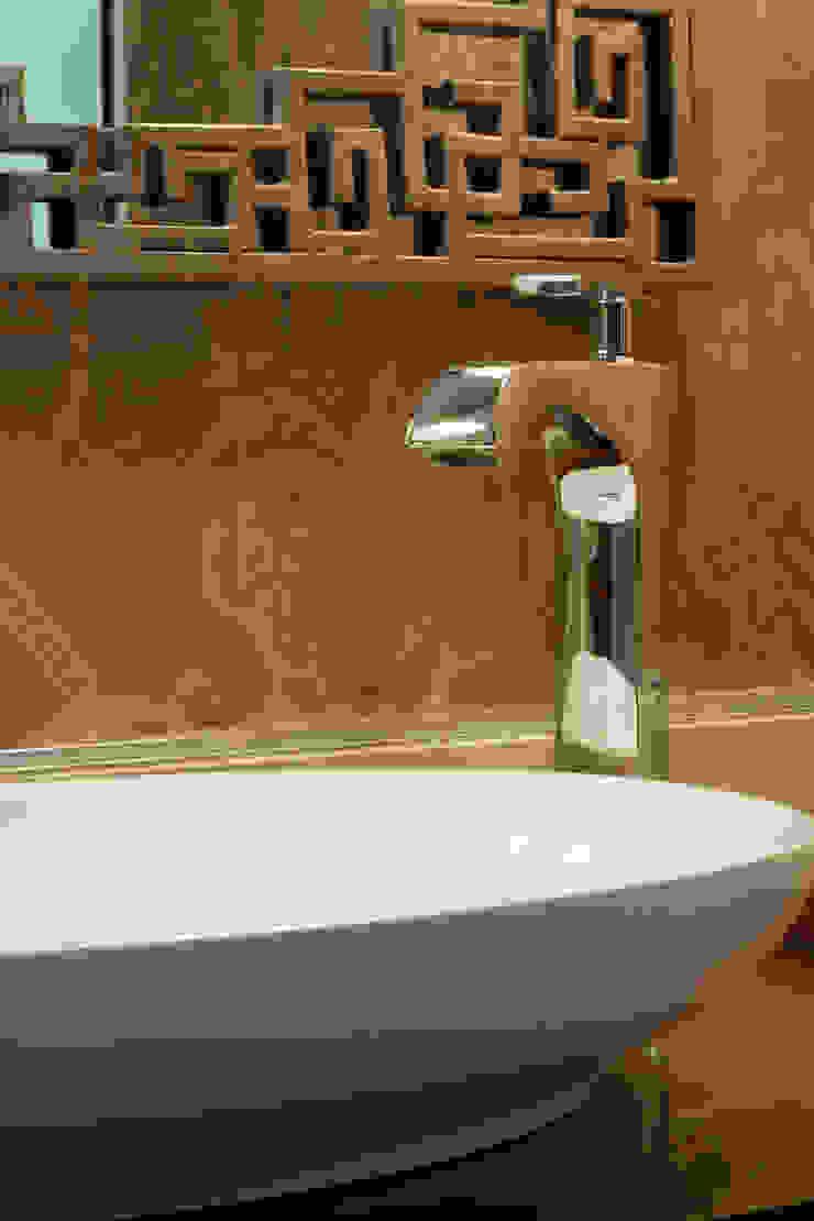 Mediterranean style bathrooms by Kirsty Badenhorst Interiors Mediterranean
