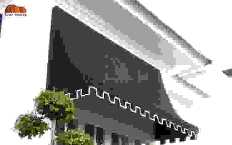 Canopy Kain Bandung Oleh Putra Canopy Klasik Tekstil Amber/Gold