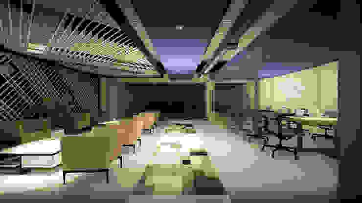 Arquitectura AG Estudios y despachos de estilo minimalista