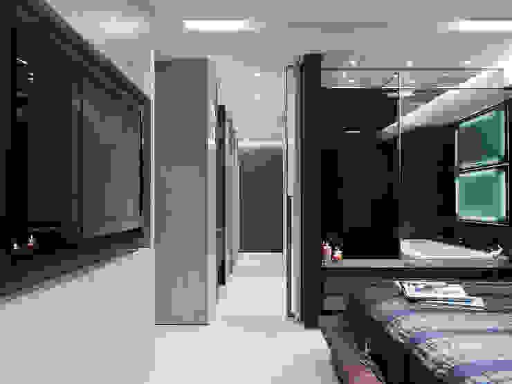 Sanxia Chen's House 現代風玄關、走廊與階梯 根據 沈志忠聯合設計 現代風