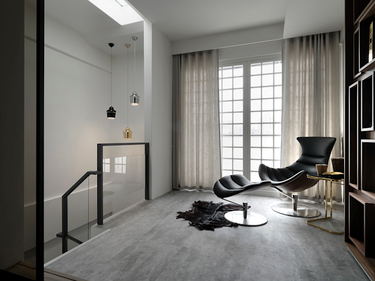 Modern Bedroom by 白金里居 空間設計 Modern