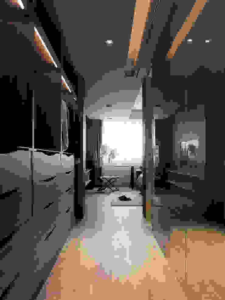 Modern Dressing Room by 白金里居 空間設計 Modern
