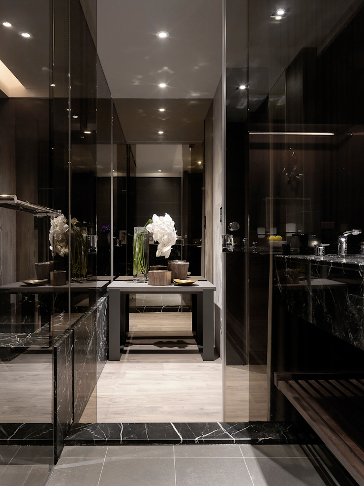 Modern Bathroom by 白金里居 空間設計 Modern