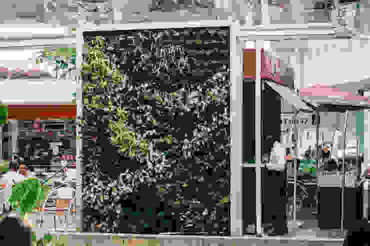 JARDINES VERTICALES Casas modernas de Elementum Arquitectos SAS Moderno