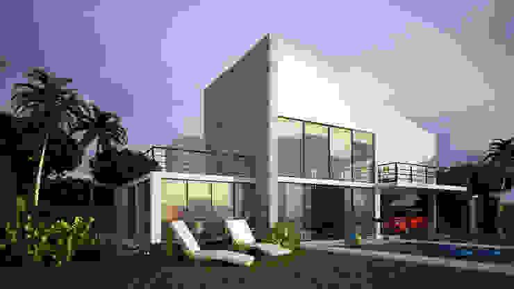 VIVIENDA CAMPESTRE Casas modernas de Elementum Arquitectos SAS Moderno