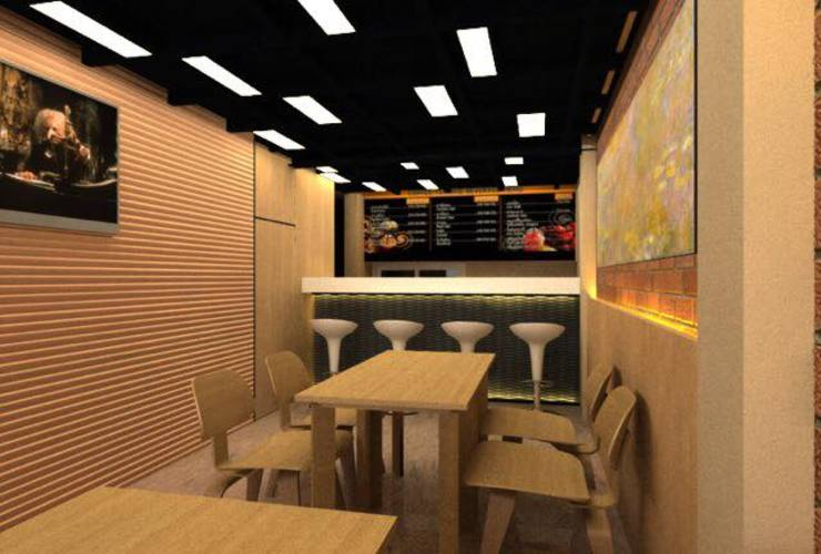ร้านกาแฟ โดย Assembuild