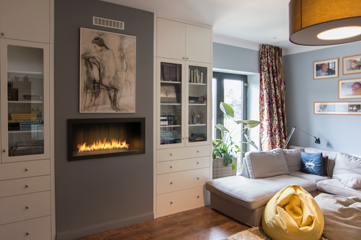 Clearfire - Lareiras Etanol Classic style living room