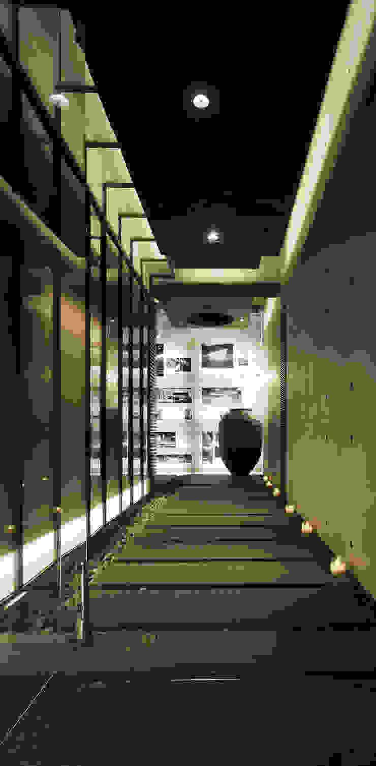 辦公室 根據 鼎爵室內裝修設計工程有限公司 簡約風 強化水泥