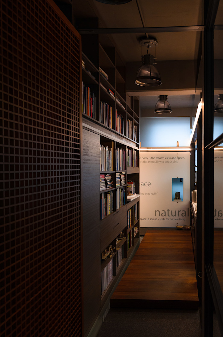 辦公室 根據 鼎爵室內裝修設計工程有限公司 簡約風 玻璃