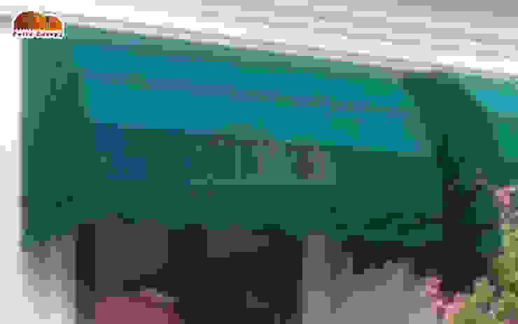 Canopy Kain Markis Oleh Putra Canopy Klasik Tekstil Amber/Gold