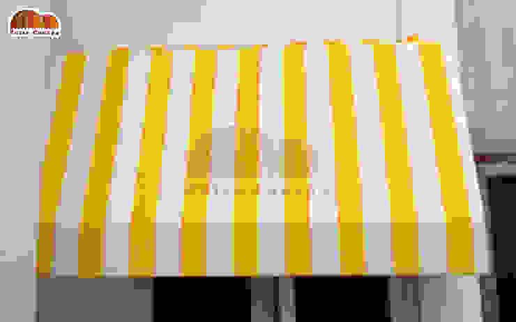 van Putra Canopy Klassiek Textiel Amber / Goud
