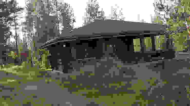 Солнечное Дома в рустикальном стиле от Техно-сруб Рустикальный Дерево Эффект древесины