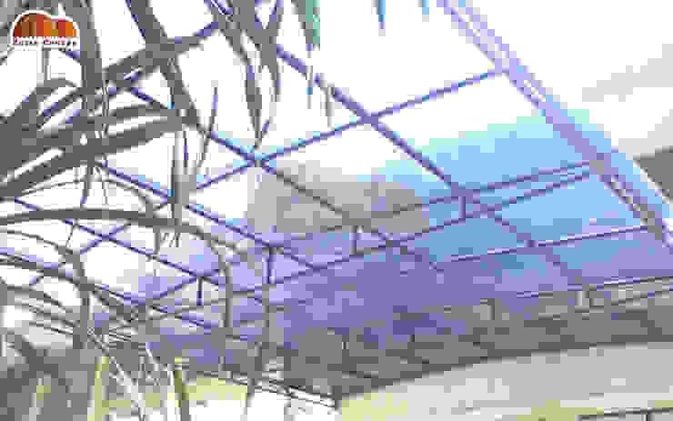 Canopy Polycarbonate Transaparan:modern  oleh Putra Canopy, Modern Bahan Sintetis Brown