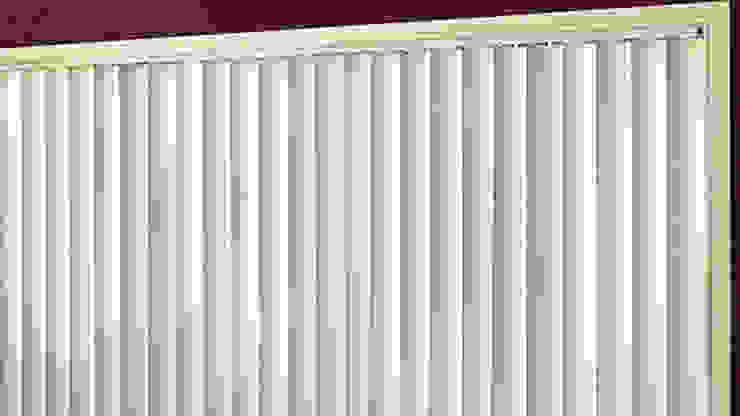 Vertical Blind jendela putih:modern  oleh Putra Canopy, Modern Bahan Sintetis Brown