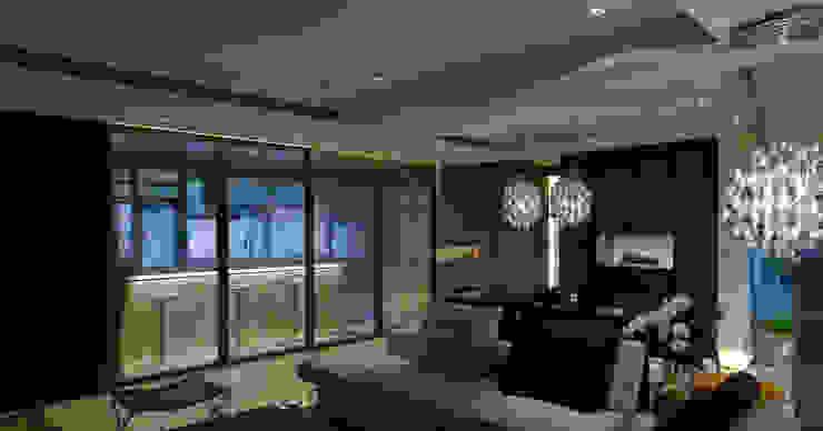 住宅(低調 奢華) 現代廚房設計點子、靈感&圖片 根據 鼎爵室內裝修設計工程有限公司 現代風 大理石