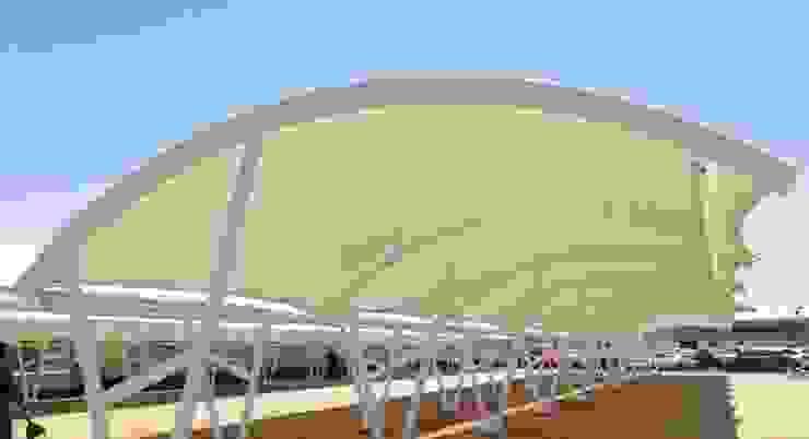 Tenda Membrane Taman Modern Oleh Putra Canopy Modern Metal