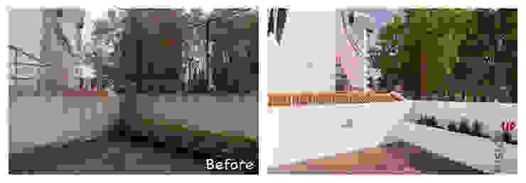 Balcones y terrazas modernos: Ideas, imágenes y decoración de homify Moderno