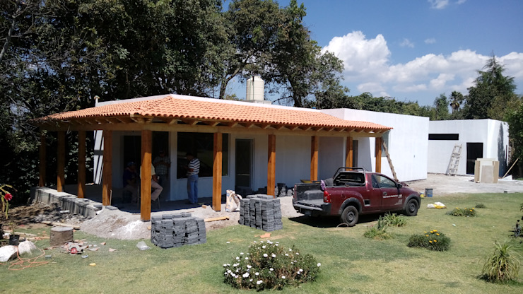 taller garcia arquitectura integral Country style house