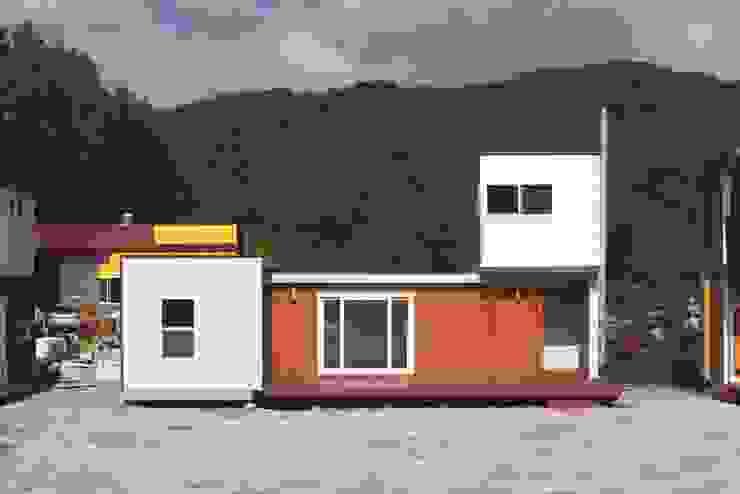 하루만에 뚝딱짓는 모듈러주택 - 스마트하우스: 스마트하우스의 현대 ,모던