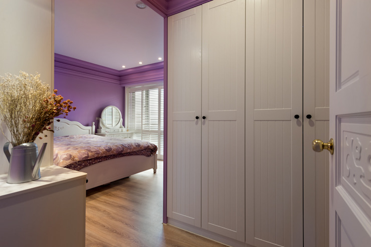 Bedroom by Glocal Architecture Office (G.A.O) 吳宗憲建築師事務所/安藤國際室內裝修工程有限公司