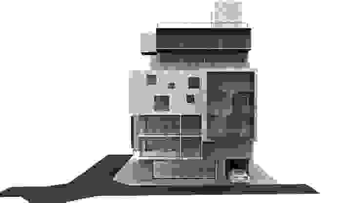 文創住宅 現代房屋設計點子、靈感 & 圖片 根據 Glocal Architecture Office (G.A.O) 吳宗憲建築師事務所/安藤國際室內裝修工程有限公司 現代風