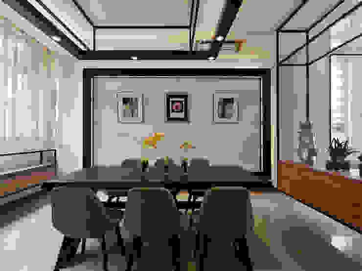 家 是生活的容器 Home: The retainer of life 根據 Glocal Architecture Office (G.A.O) 吳宗憲建築師事務所/安藤國際室內裝修工程有限公司 現代風