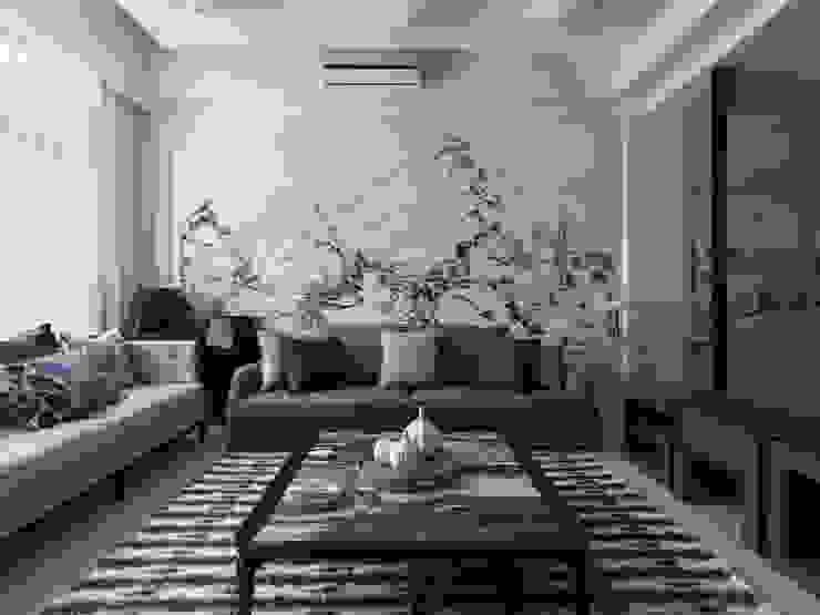 富「村」山居Dwelling in the Fuchun Mountains 根據 Glocal Architecture Office (G.A.O) 吳宗憲建築師事務所/安藤國際室內裝修工程有限公司 日式風、東方風