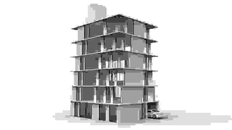 舞者 The Dancer 現代房屋設計點子、靈感 & 圖片 根據 Glocal Architecture Office (G.A.O) 吳宗憲建築師事務所/安藤國際室內裝修工程有限公司 現代風
