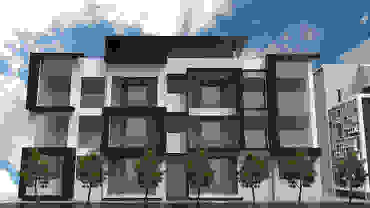 家的超能力 (The villa) 現代房屋設計點子、靈感 & 圖片 根據 Glocal Architecture Office (G.A.O) 吳宗憲建築師事務所/安藤國際室內裝修工程有限公司 現代風
