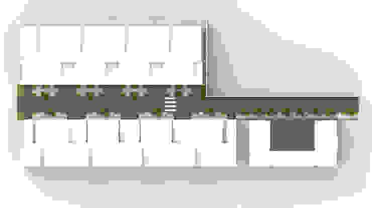 家的超能力 (The villa): 現代  by Glocal Architecture Office (G.A.O) 吳宗憲建築師事務所/安藤國際室內裝修工程有限公司, 現代風