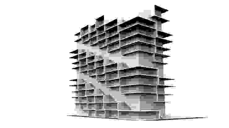 運動時尚 Urban & Sporty / Hybird Lifestyle 現代房屋設計點子、靈感 & 圖片 根據 Glocal Architecture Office (G.A.O) 吳宗憲建築師事務所/安藤國際室內裝修工程有限公司 現代風