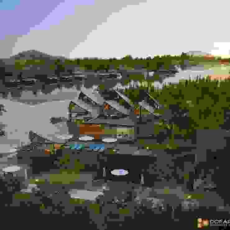 รีสอร์ทริมแม่น้ำแคว โดย DofArch 3D visualizer Thailand