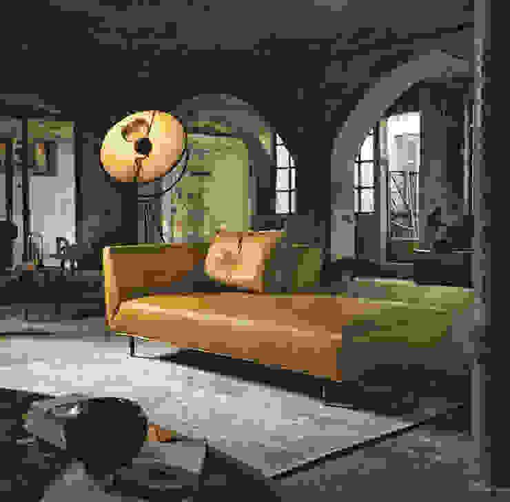 غرفة المعيشة تنفيذ Cappelletti Architetti,