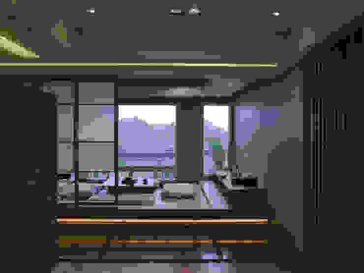 住宅(漫步雲間) 根據 鼎爵室內裝修設計工程有限公司 簡約風 強化水泥
