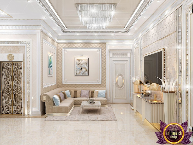 Corridor & hallway by Luxury Antonovich Design,