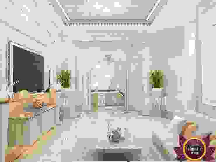  Hospitality interior ideas of Katrina Antonovich Classic style corridor, hallway and stairs by Luxury Antonovich Design Classic