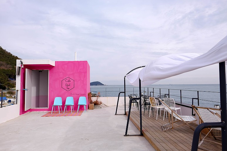 청사포 카페 루프탑 프로젝트 by 블랙인테리어 모던