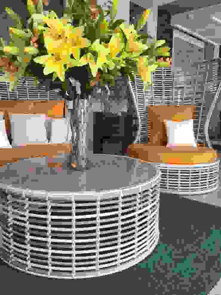 Casasola Decor Balconies, verandas & terraces Furniture Bahan Sintetis Orange
