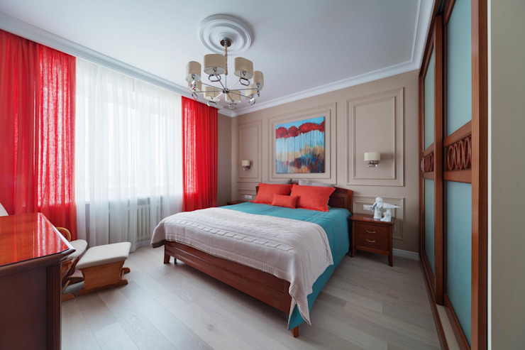 Classic style bedroom by Дизайн Студия 33 Classic