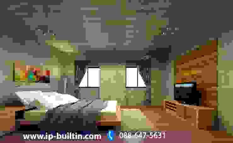 ตกแต่งภายในห้องนอน โดย IP BUILT IN
