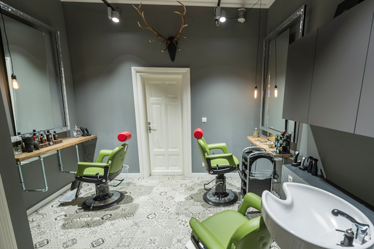 Eclectic style commercial spaces by hysenbergh GmbH | Raumkonzepte Duesseldorf Eclectic