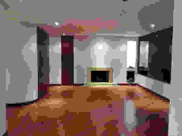 Proyecto Country Salas modernas de Erick Becerra Arquitecto Moderno