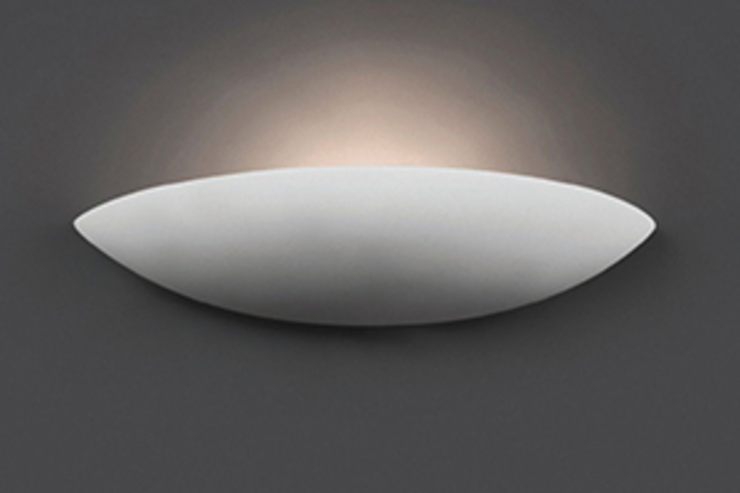 Lámparas de Yeso lisas de ILUMINABLE Ecléctico