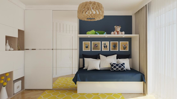 Flatsdesign Modern nursery/kids room